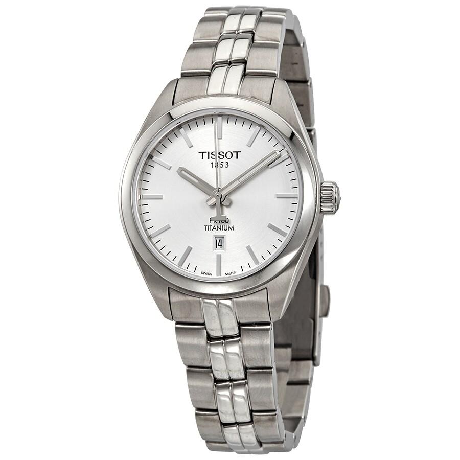 PR 100 Quartz Silver Dial Ladies Watch T101.210.44.031.00