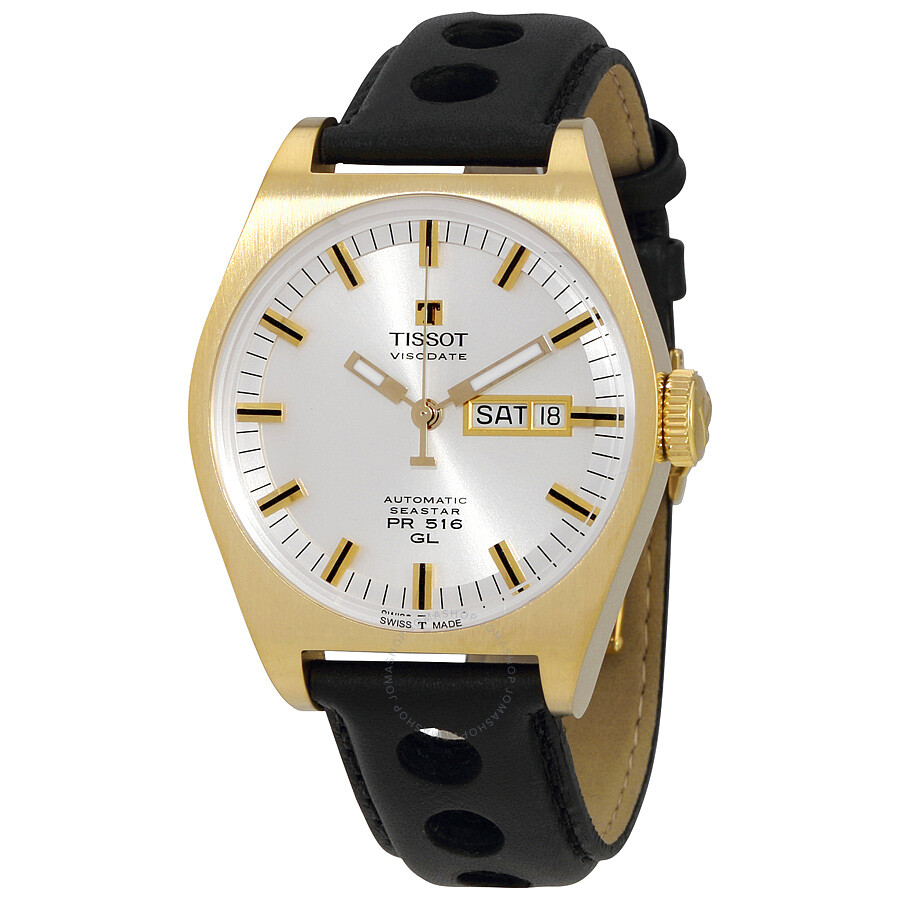 21db2b387c9 Tissot PR 516 Automatic Silver Dial Men's Watch T071.430.36.031.00 ...