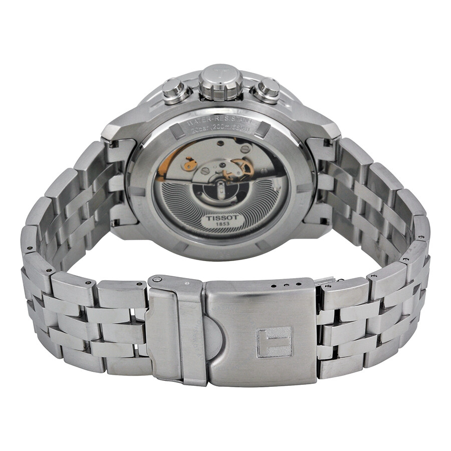 fed9ddc2f5e ... Tissot PRC 200 Automatic Chronograph Black Dial Stainless Steel Men s  Watch T0554271105700 ...