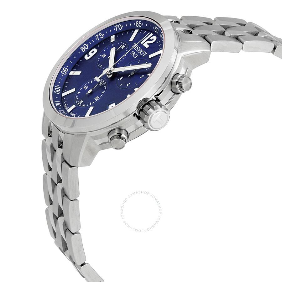tissot mens t17158652 prc200 chronograph