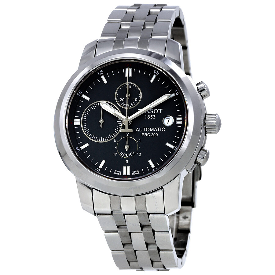 df8e310ae24 Tissot PRC200 Automatic Grey Dial Men s Watch T014.427.11.081.00 ...