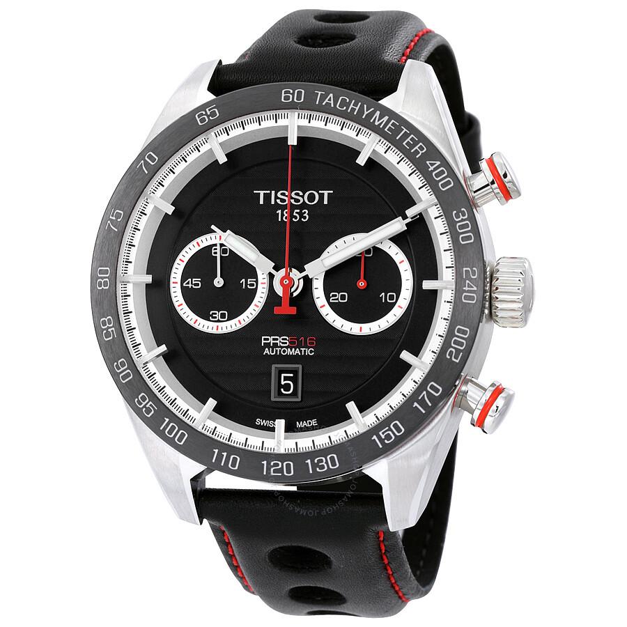 Tissot PRS 516 Chronograph Automatic Men's Watch T100.427 ...