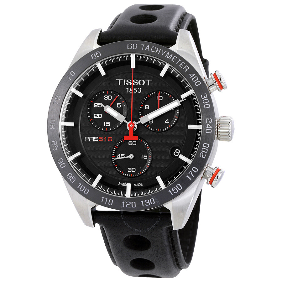 tissot doorbuster event jomashop tissot prs 516 chronograph black dial men s watch