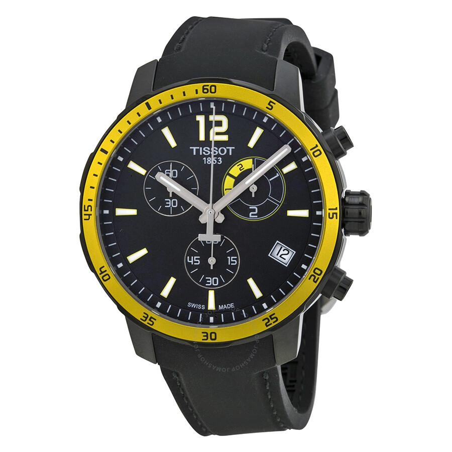 825aa751e Tissot Quickster Soccer World Cup Black Dial Men's Watch T0954493705700 ...