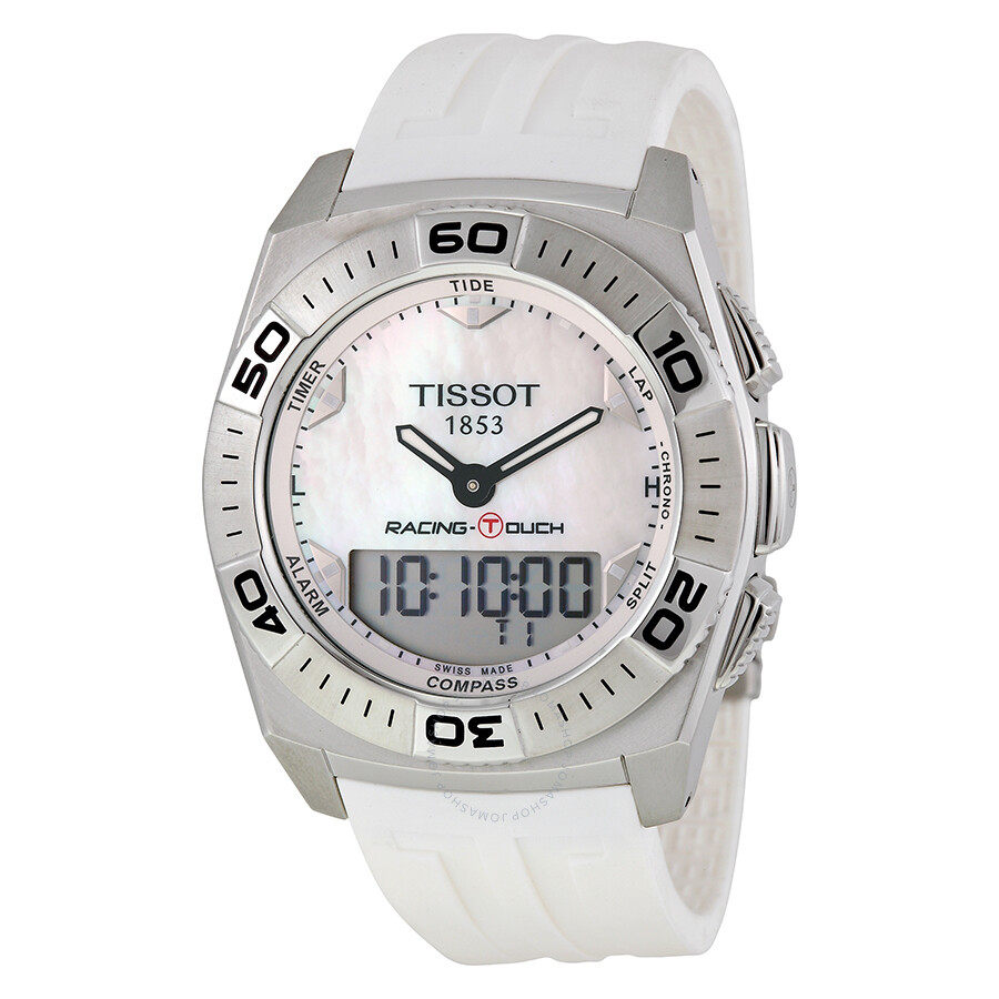 cfa3216fe58 Tissot Racing T-Touch White Rubber Men s Watch Item No. T002.520.17.111.00