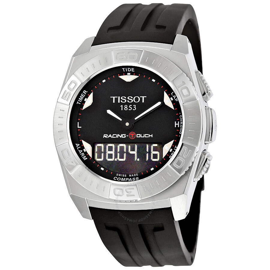 tissot racing touch chronograph men 39 s watch t0025201705100. Black Bedroom Furniture Sets. Home Design Ideas