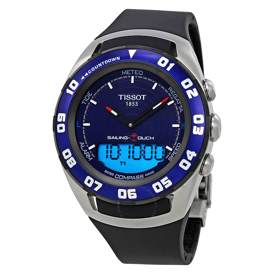 tissot sailing touch analog digital s t056 420