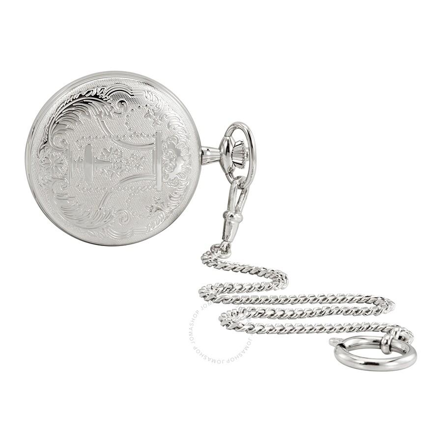9e478285cb15a4 ... Tissot Savonnette Silver Dial Hand Wound Pocket Watch T83.6.454.13 ...
