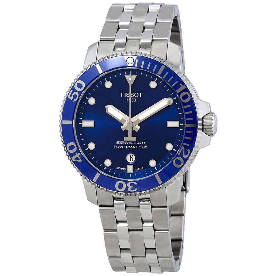 2e9ac44b948 Tissot Seastar 1000 Automatic Blue Dial Men s Watch T120.407.11.041.00 ...
