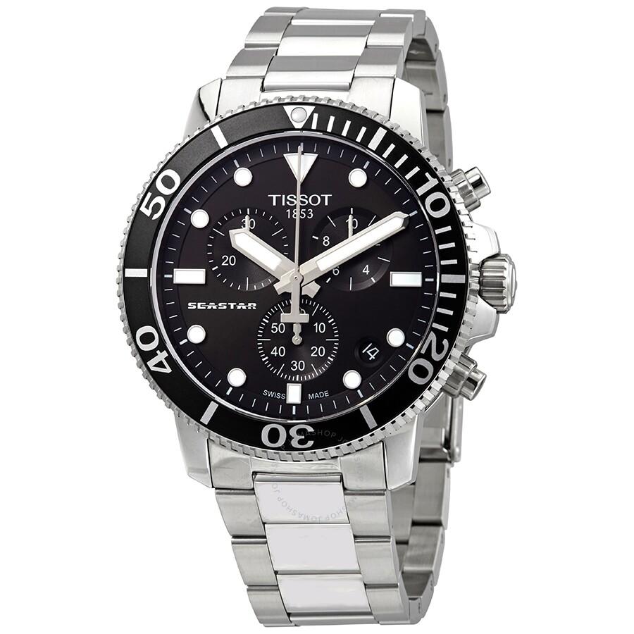40d73bf18de Tissot Seastar 1000 Chronograph Quartz Men s Watch T1204171105100 Item No.  T120.417.11.051.00