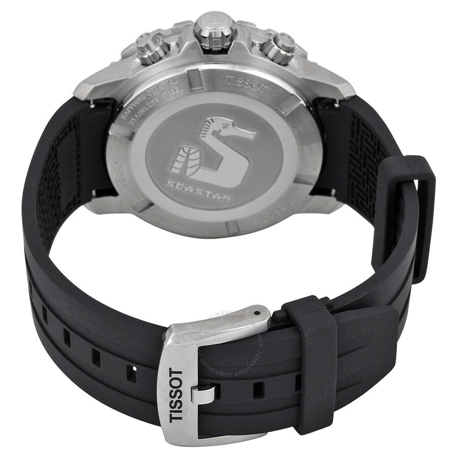 4bbd1e3a2ff ... Tissot Seastar 1000 Chronograph Black Dial Men s Watch T0664171705700  ...