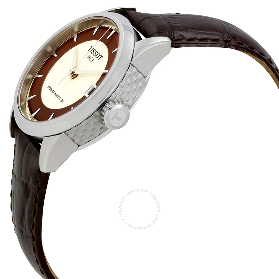 Tissot T Classic Automatic Ivory Dial Ladies Watch T086.207.16.261.00