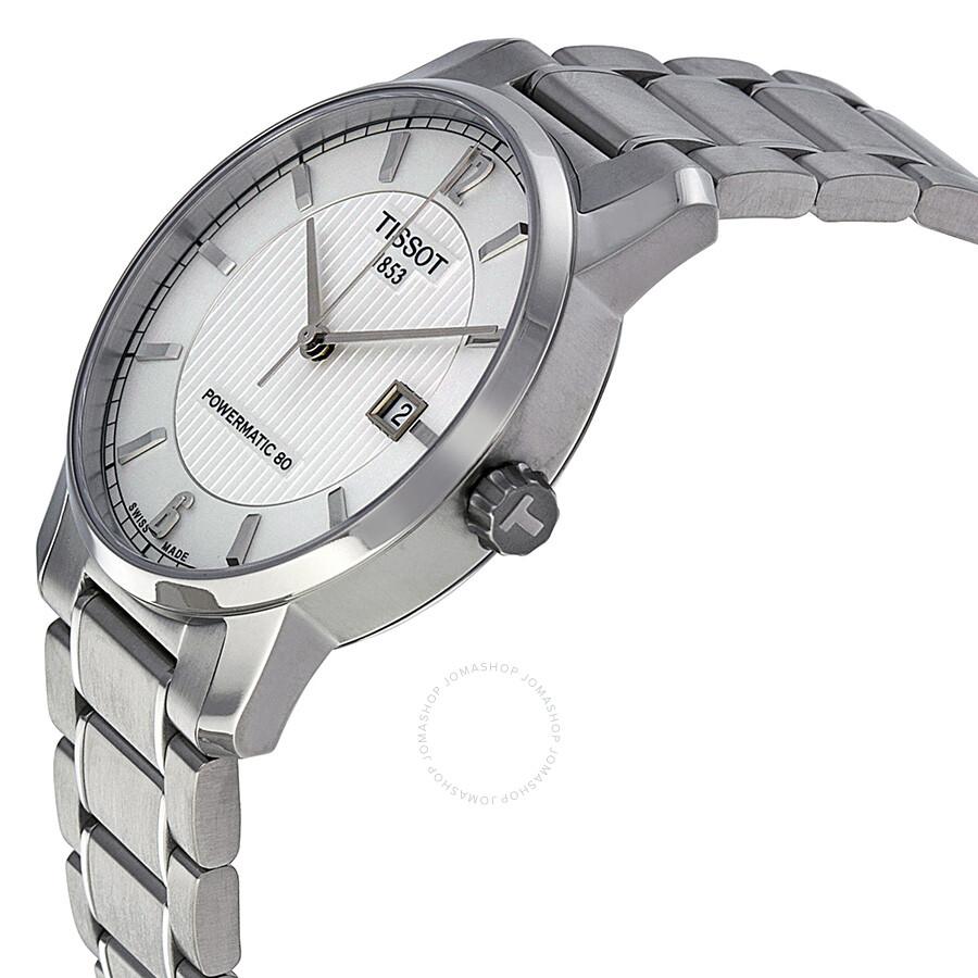 8bea95330 ... Tissot T-Classic Titanium Automatic Silver Dial Men's Watch  T0874074403700 ...