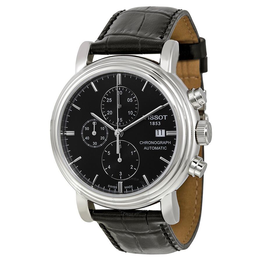 c8047522bac Tissot T-Classic Carson Chronograph Automatic Black Dial Men's Watch  T0684271605100 ...