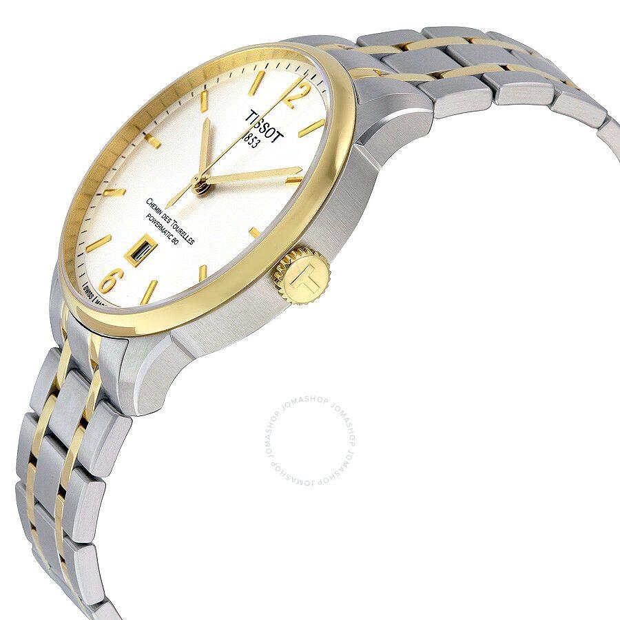 Почистить желтые часы tissot