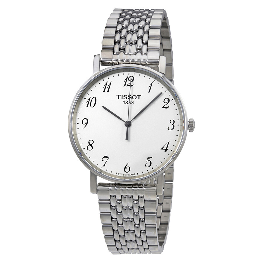 bc5d48ff7 Tissot T-Classic Everytime Silver Dial Unisex Watch T1094101103200 ...
