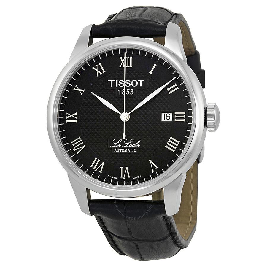 tissot t classic le locle automatic men 39 s watch t41. Black Bedroom Furniture Sets. Home Design Ideas
