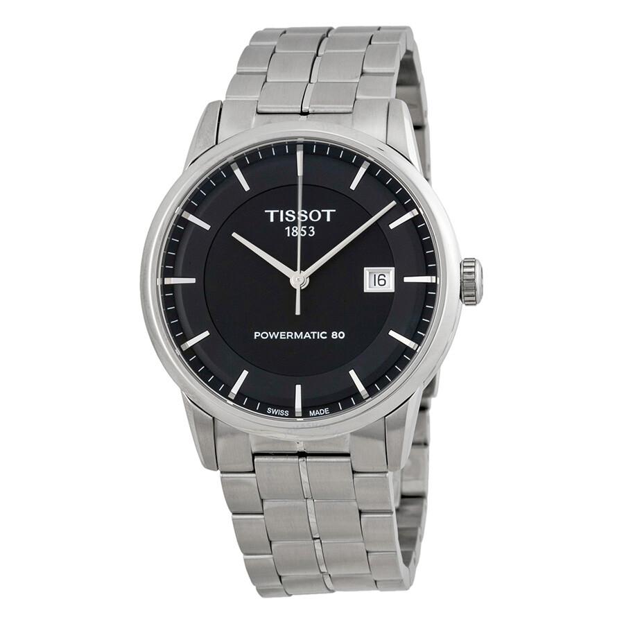 Tissot Powermatic 80 Black Dial Men's Watch T0864071105100