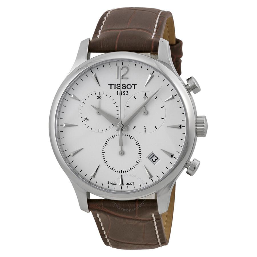 94f3ced3adb Tissot T Classic Tradition Chronograph Men's Watch T0636171603700