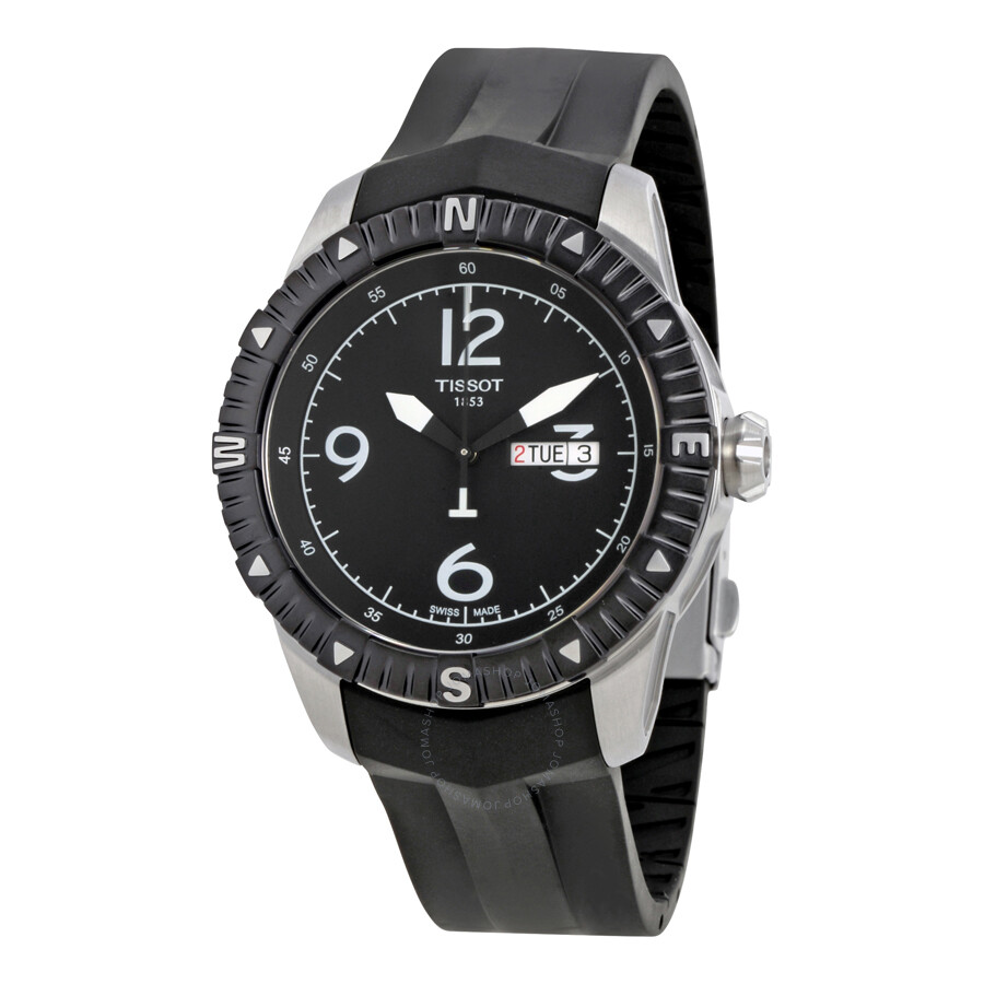 c43d65d262b Tissot T-Navigator Automatic Black Dial Men s Watch T0624301705700