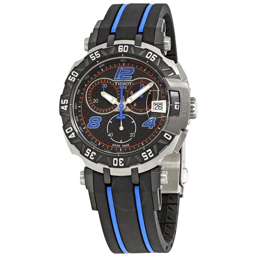 tissot t race chronograph men 39 s watch. Black Bedroom Furniture Sets. Home Design Ideas