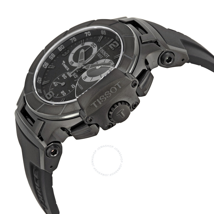 0045314192d ... Tissot T-Race Chronograph Quartz Sport Men's Watch T0484173705700 ...