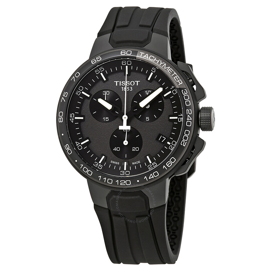 7b663807817 Tissot T-Race Cycling Chronograph Black Dial Men s Watch T111.417.37.441.03  ...