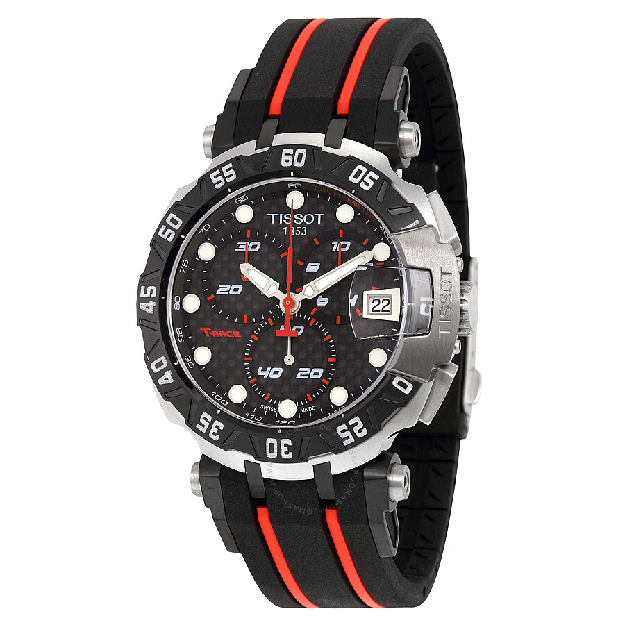 tissot t race motogp 2015 black dial men 39 s sports watch. Black Bedroom Furniture Sets. Home Design Ideas