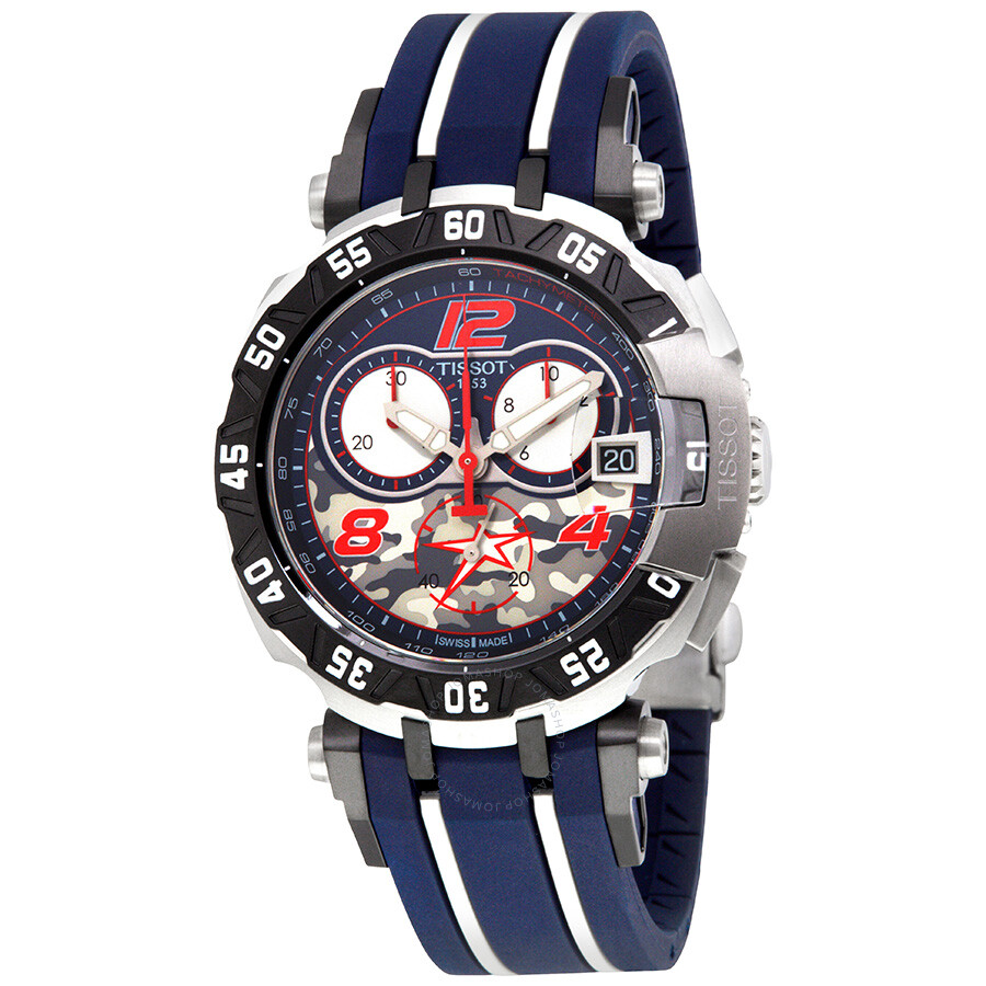 9fb68b95a27 Tissot T-Race NICKY HAYDEN Chronograph Men s Watch T092.417.27.057.03 ...