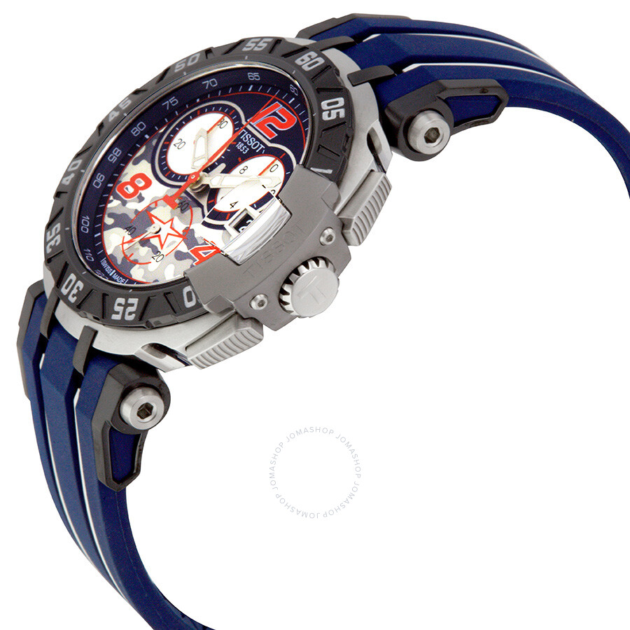 468df1cf8f0 ... Tissot T-Race NICKY HAYDEN Chronograph Men s Watch T092.417.27.057.03  ...