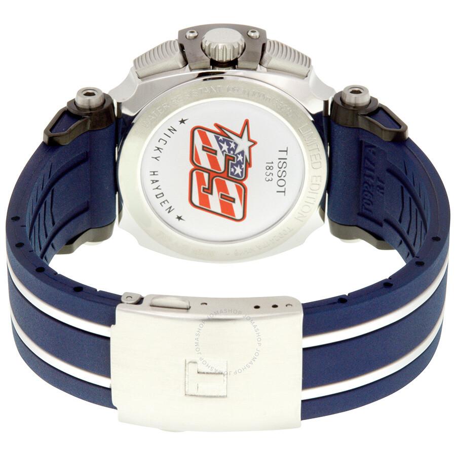 da59b22b1a5 ... Tissot T-Race NICKY HAYDEN Chronograph Men s Watch T092.417.27.057.03