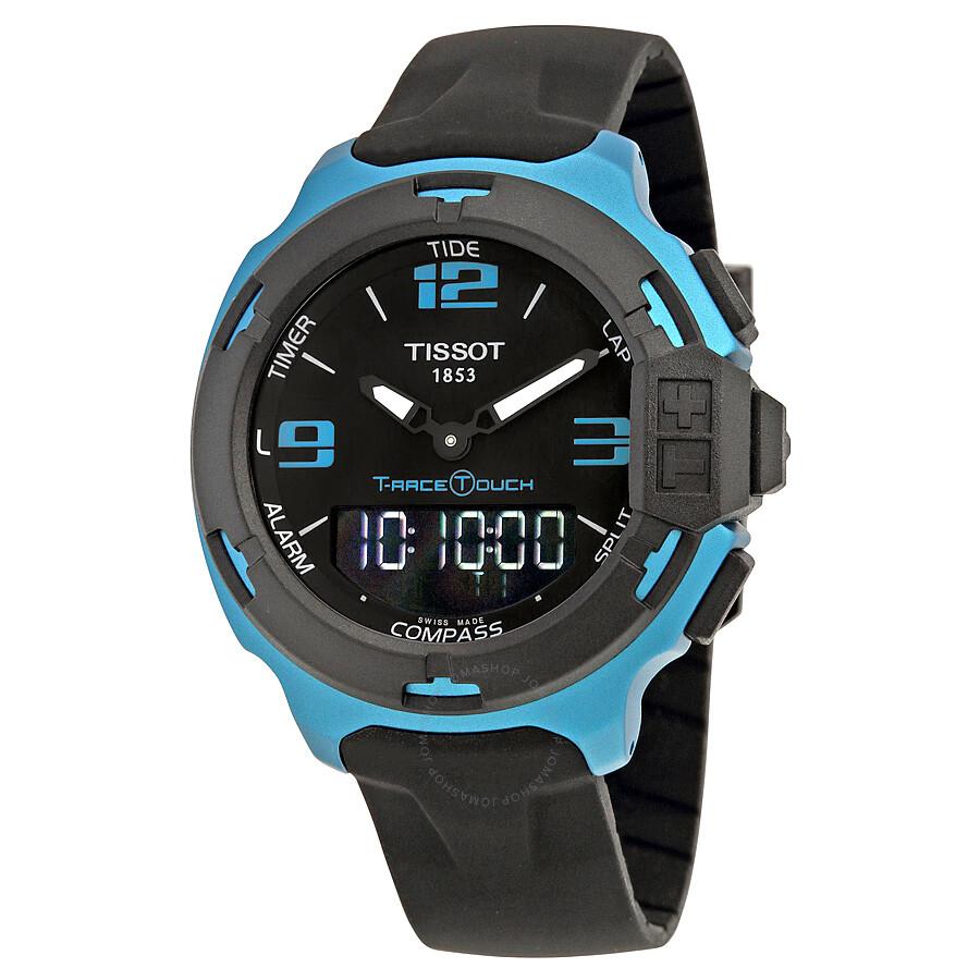 Tissot T-Race Touch Aluminium Black Dial Men s Watch T0814209705704 Item  No. T081.420.97.057.04 ad8ec619e7