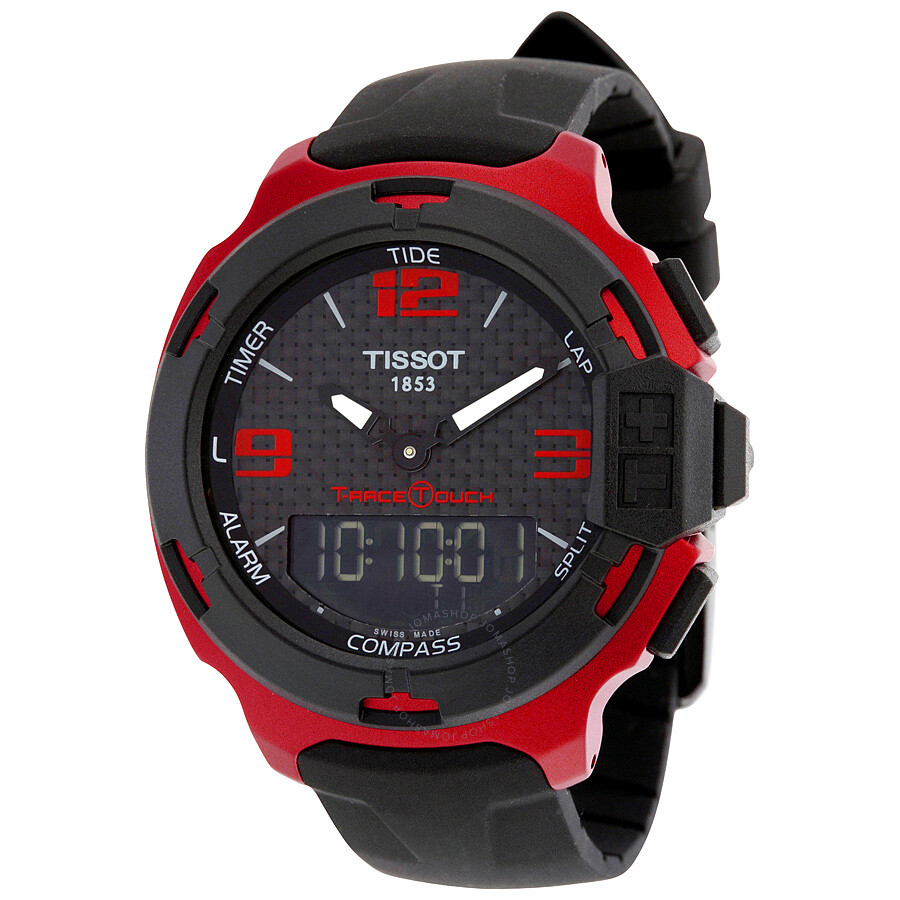 54ffd24b935 Tissot T-Race Touch Red Aluminium Men s Sports Watch T0814209720700 Item  No. T081.420.97.207.00