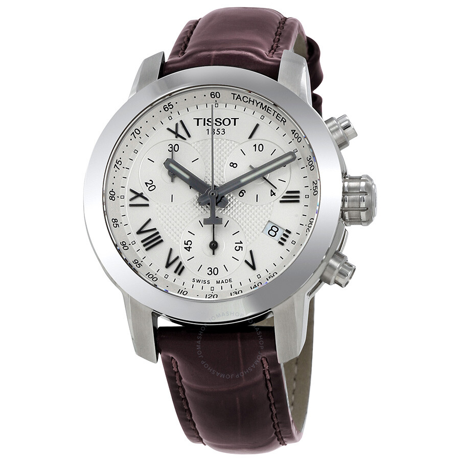 tissot t sport chronograph silver t055