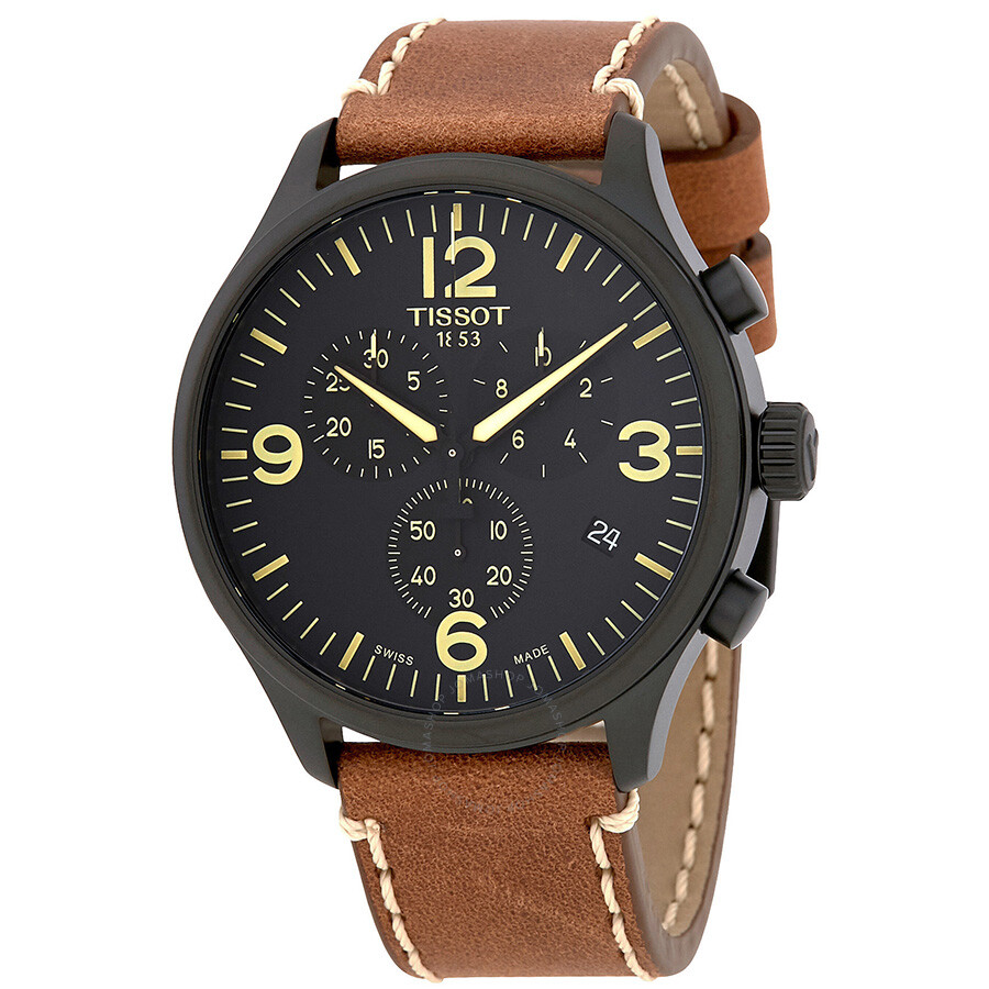 be929daf4 Tissot T-Sport Chronograph XL Black Dial Men's Watch T116.617.36.057.00 ...