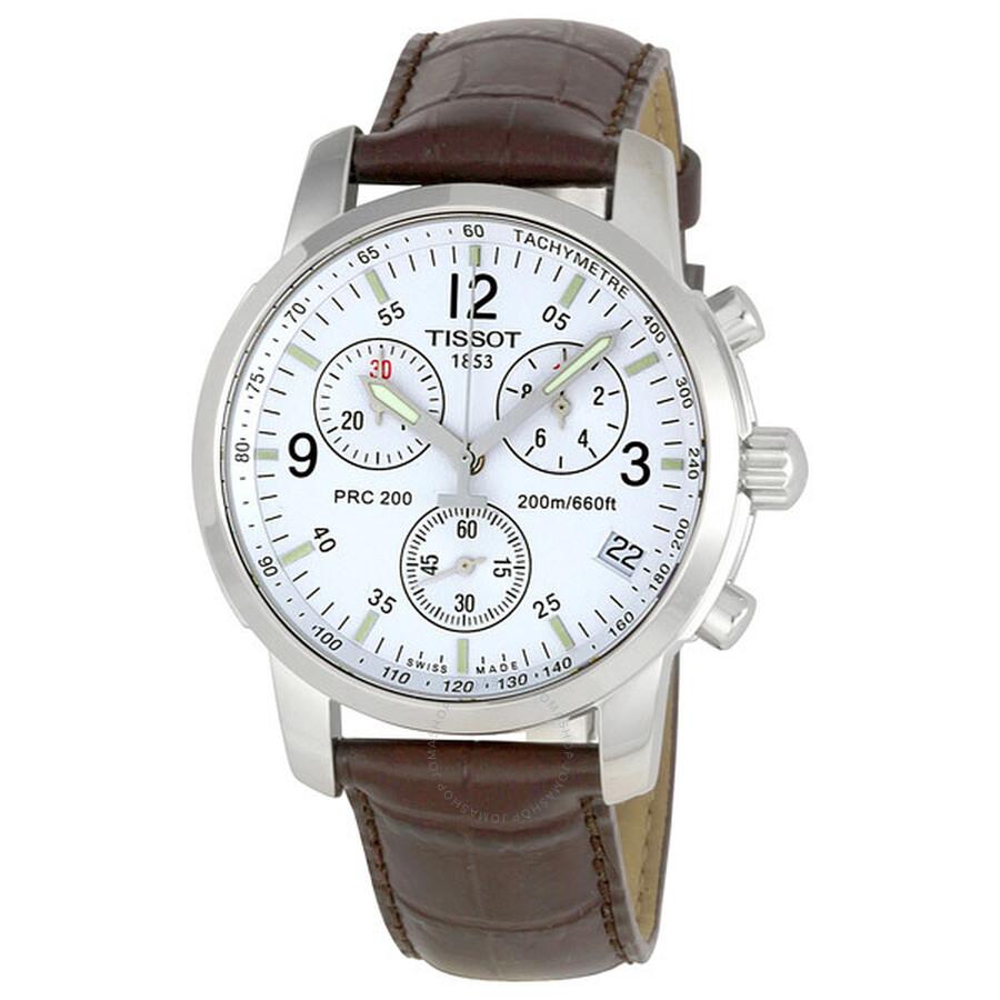 77ed21521 Tissot T-Sport PRC200 Chronograph Men's Watch T17.1.516.32 - PRC 200 ...