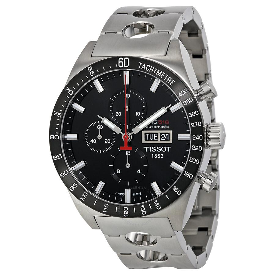 tissot t sport prs 516 automatic chronograph men 39 s watch. Black Bedroom Furniture Sets. Home Design Ideas