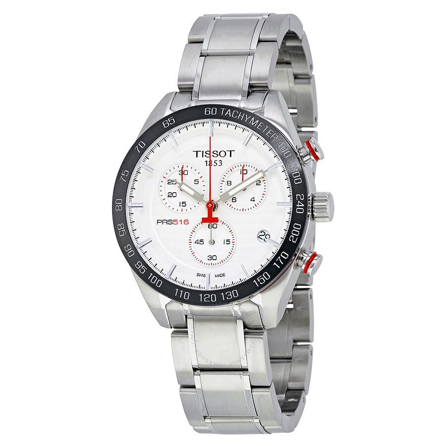 tissot t sport prs516 chronograph men 39 s watch. Black Bedroom Furniture Sets. Home Design Ideas