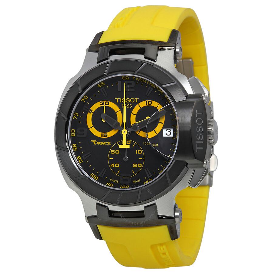 tissot t sport t race quartz men 39 s watch t0484172705703. Black Bedroom Furniture Sets. Home Design Ideas