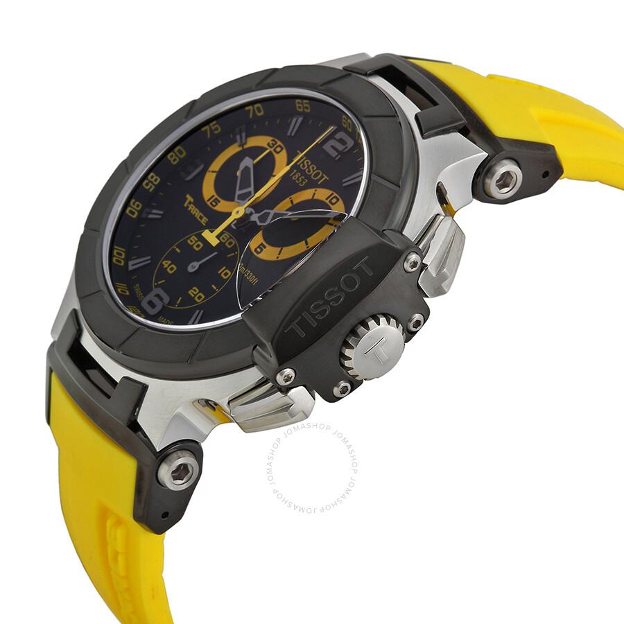 ec5d330f4cb Tissot T-Sport T-Race Quartz Men's Watch T0484172705703 - T-Race - T ...