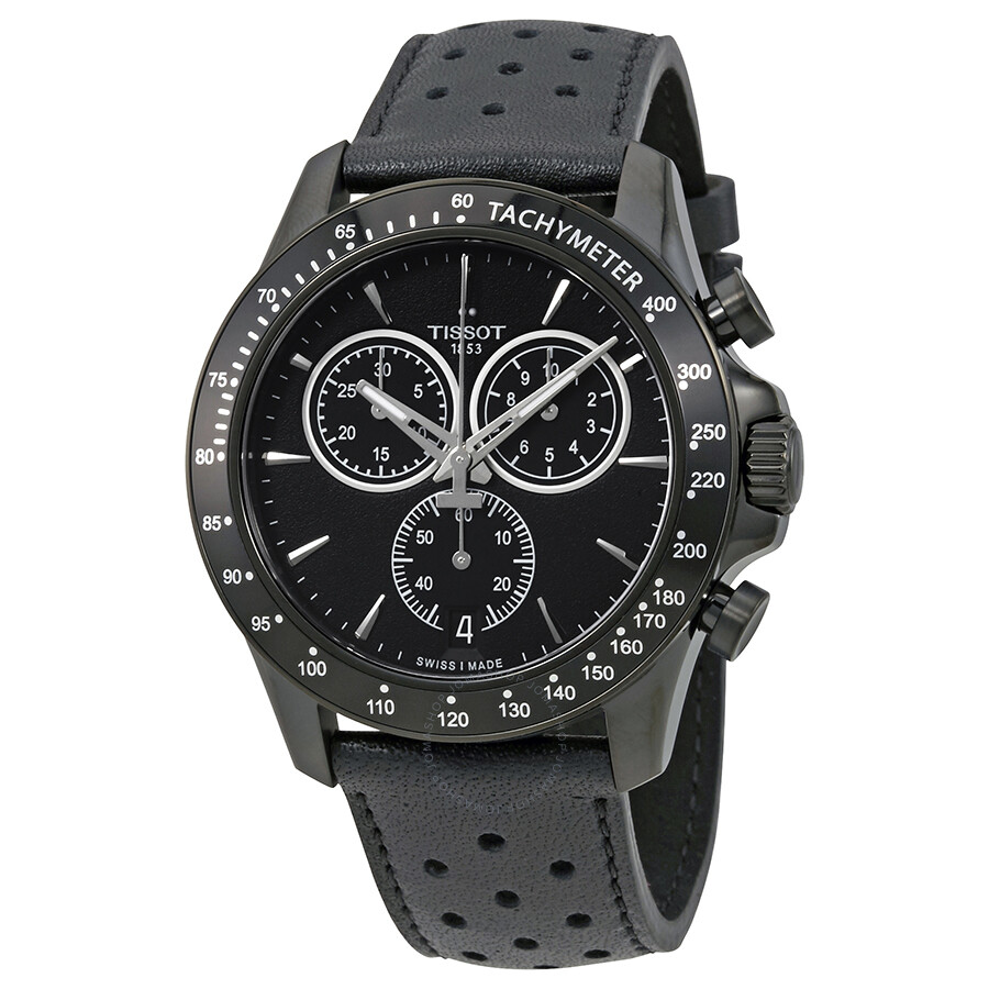 tissot watches jomashop tissot t sport v8 chronograph black dial men s watch