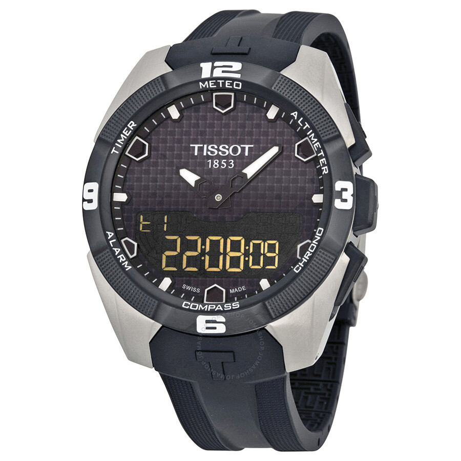fd66bc23b297 Tissot T-Touch Expert Solar Black Rubber Men s Watch T0914204705100 Item  No. T091.420.47.051.00