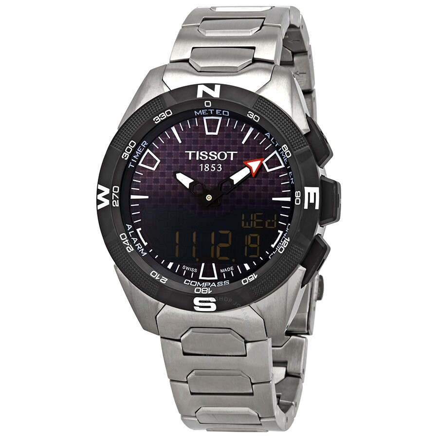 Tissot T Touch Expert Solar Ii Quartz Men S Titanium Watch T110 420 44 051 00