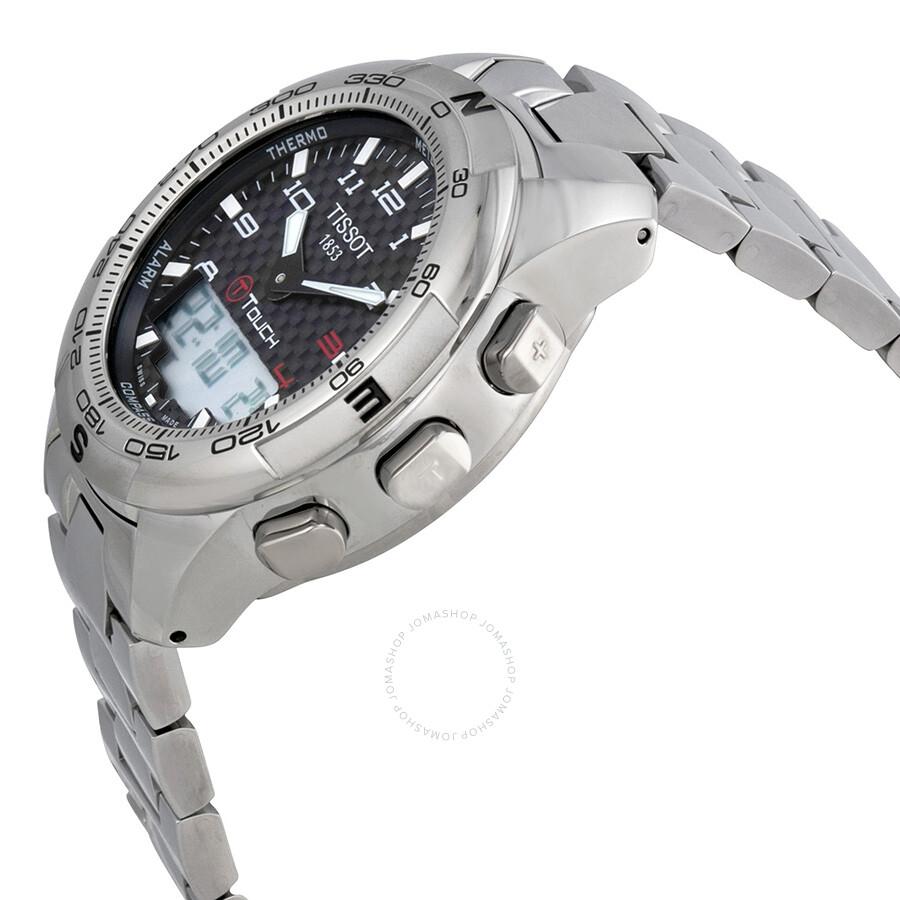 9864b04062b Tissot T-Touch II Men s Analog-Digital Watch T047.420.44.207.00 - T ...