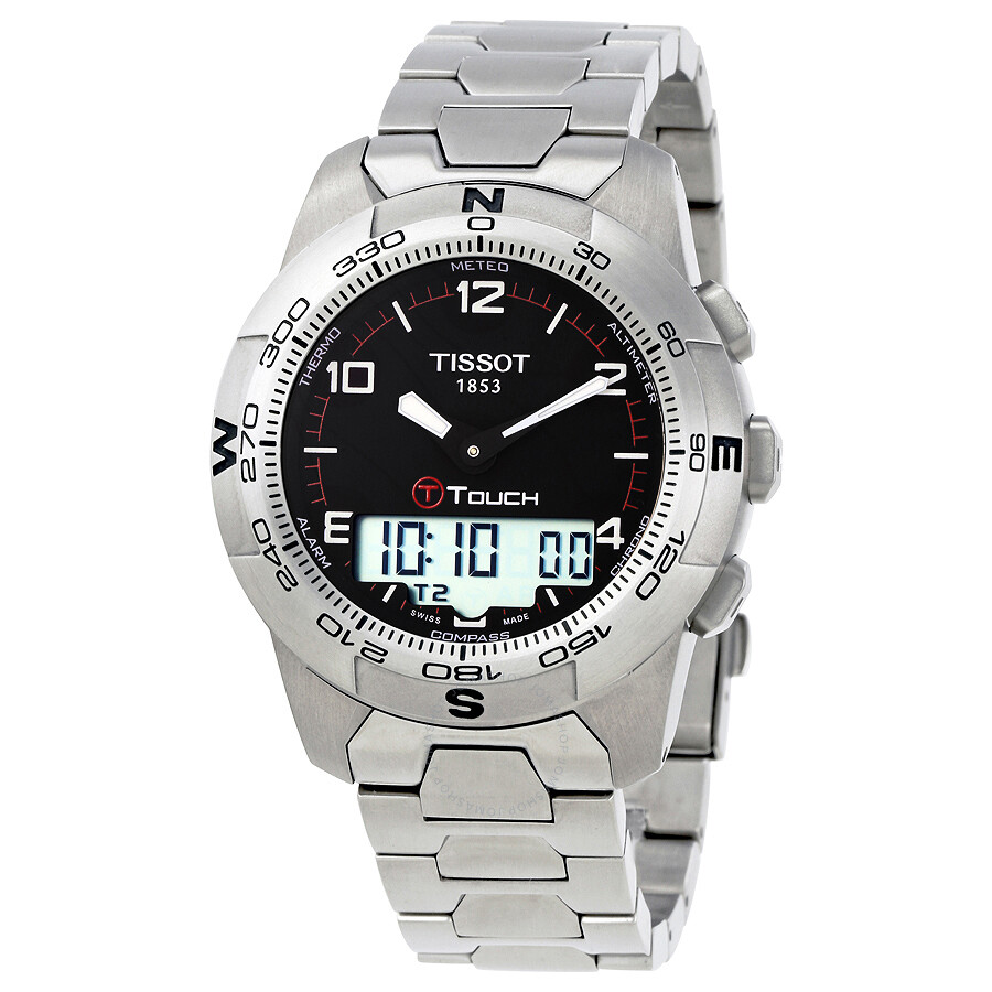 Tissot T Touch Ii Men S Watch T047 420 44 057 00 T Touch Ii T Touch Collection Tissot