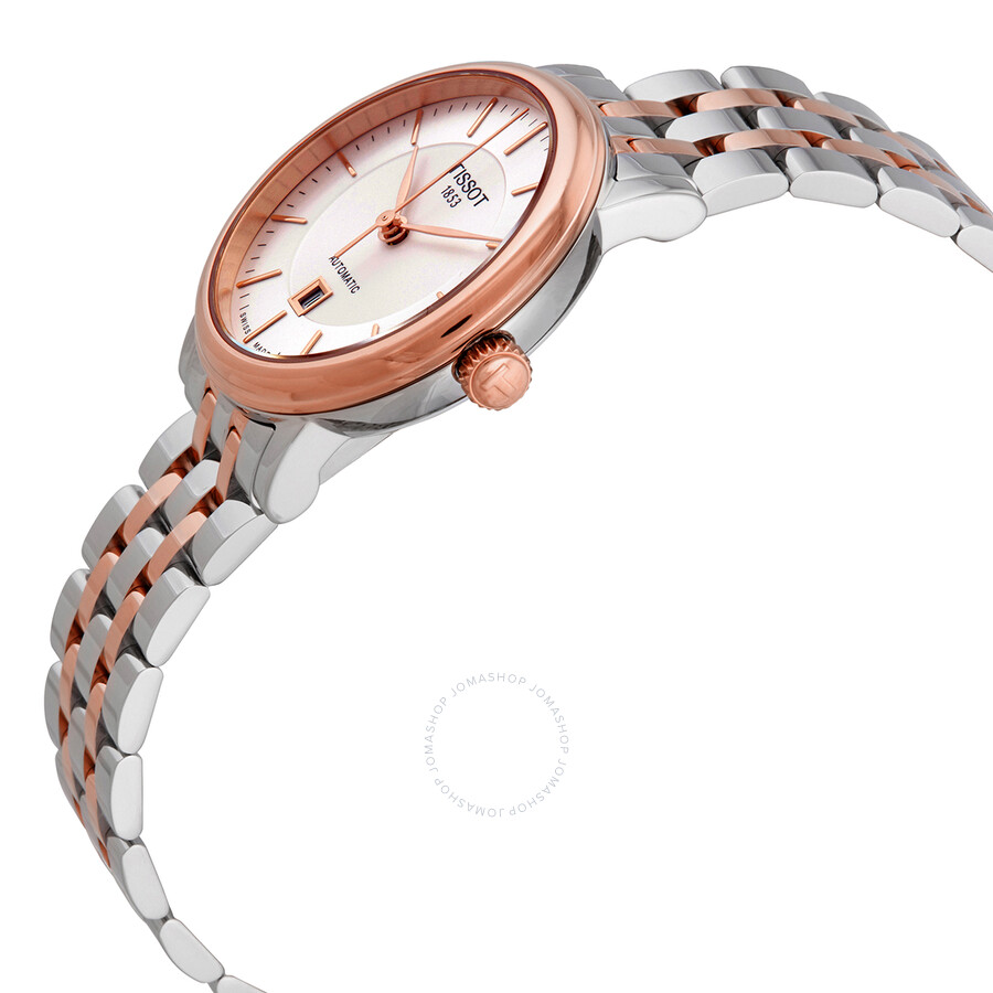 T-Classic Carson Silver Dial Ladies Watch T122.207.22.031.01