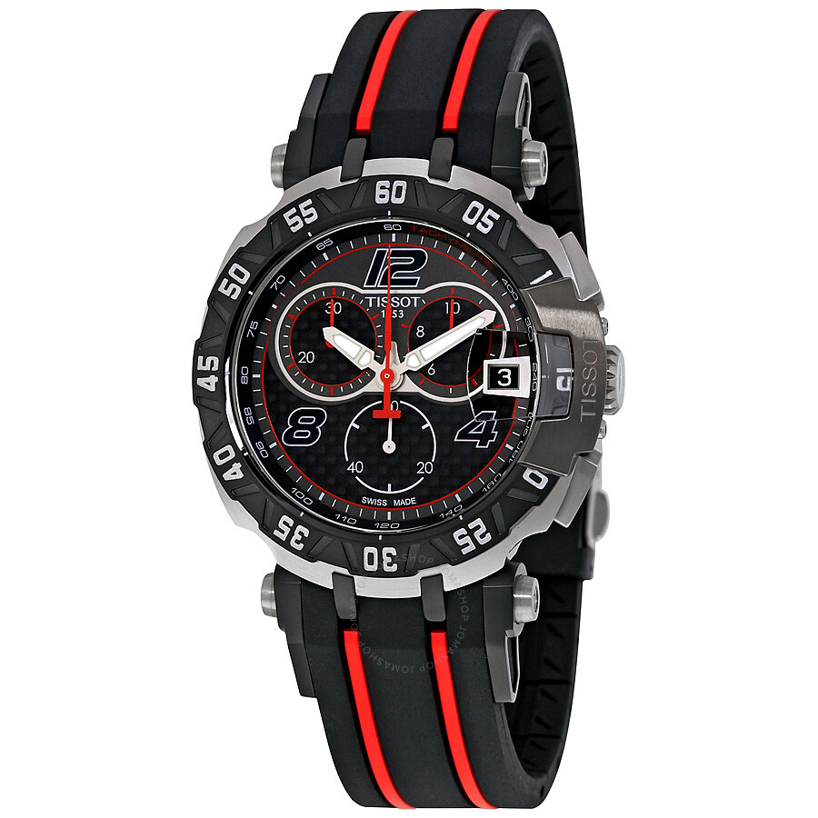 tissot t race moto gp black dial chronograph men 39 s watch t0924172720700 t race t sport. Black Bedroom Furniture Sets. Home Design Ideas