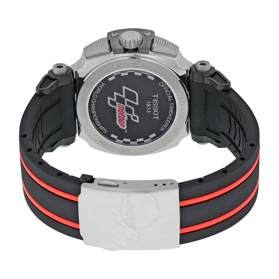 6de80ceccc3 ... Tissot T-Race Moto GP Black Dial Chronograph Men s Watch T0924172720700