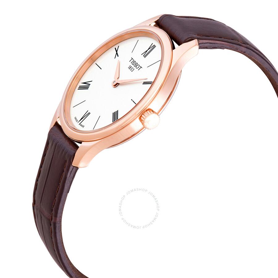 Tradition 5.5 Quartz White Dial Ladies Watch T063.209.36.038.00