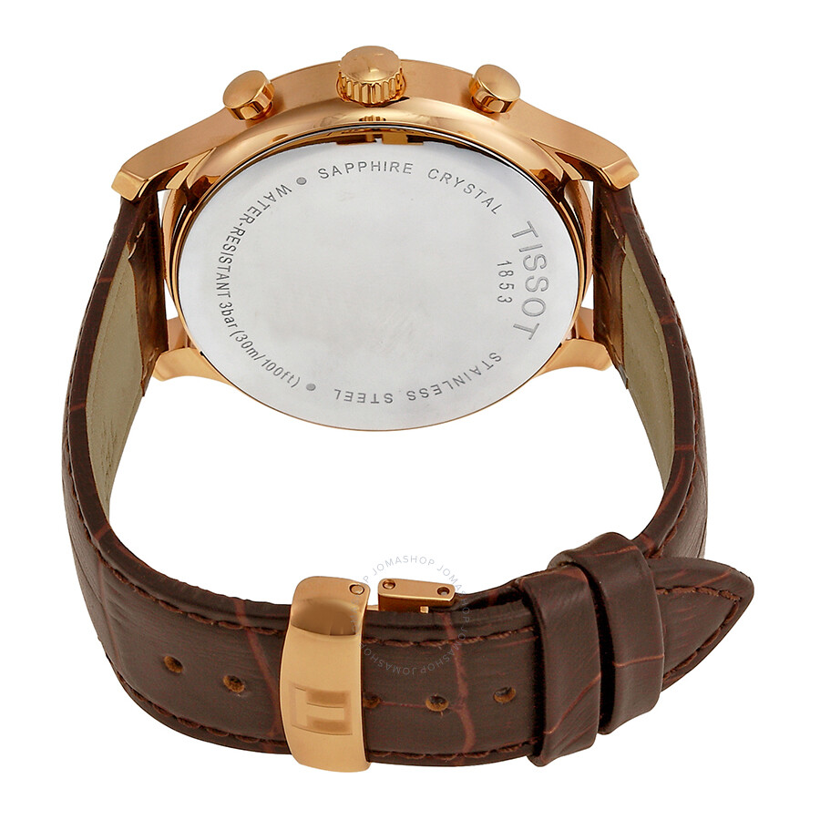 493c04fda ... Tissot Tradition Classic Chronograph Rose Gold-plated Men's Watch  T0636173603700 ...